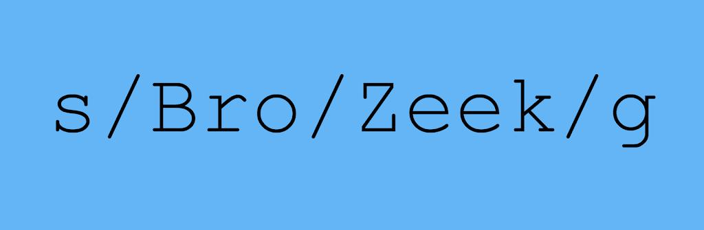 Zeek 3.0.0