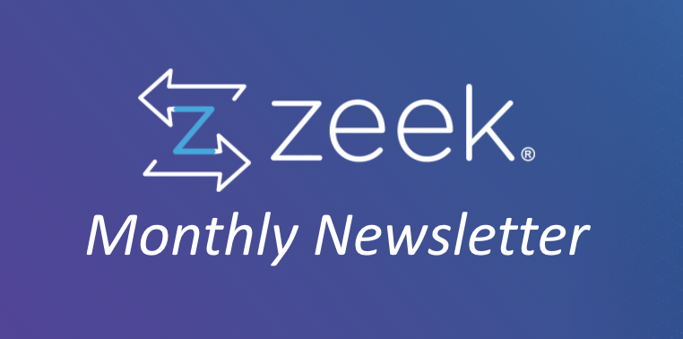 Zeek Monthly Newsletter – Issue 8 – February 2021