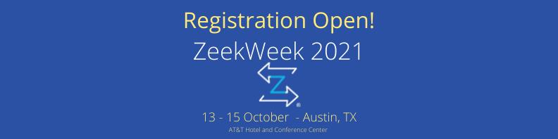 ZeekWeek 2021 – Registration Open!